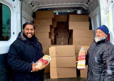 Waleed Aslam and Mahmood Mirza fro the donation of bread
